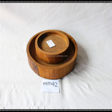 Handicraft Wooden Plate 2pcs/set
