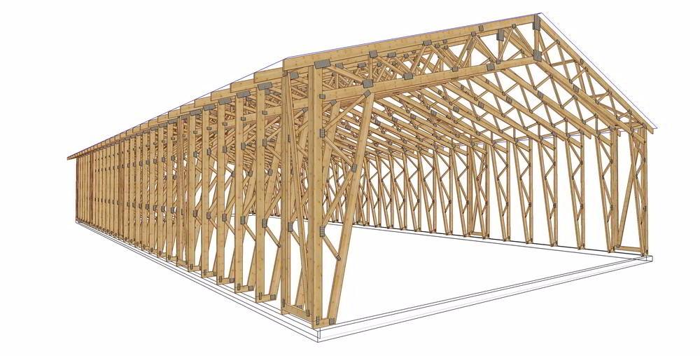Custom Corner Bracket Wood Construction Structural