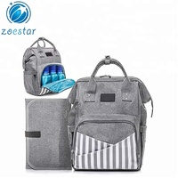Factory Direct Stylish Hot sale High Quality Unisex Baby Nappy Diaper Bag Backpack