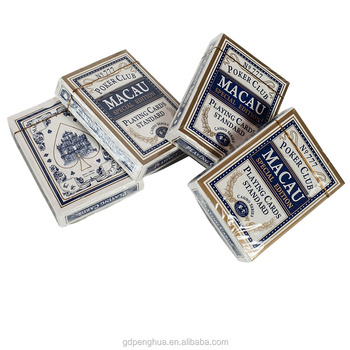 Custom printing Advertising Poker Playing Card set