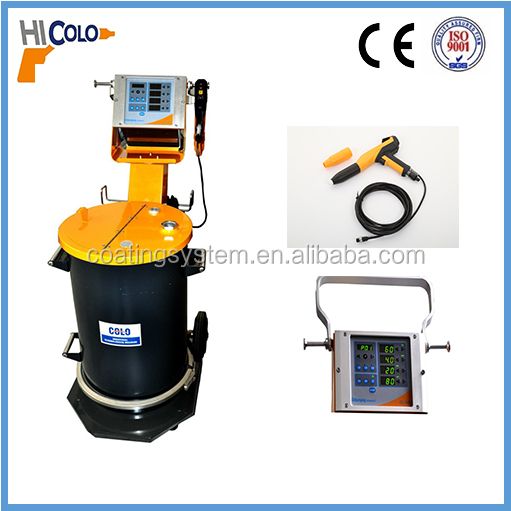 digital programable spray paint equipment for plastic powder coating machine