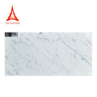 Crystal white polished faux marble tile 300x600 chinese natural carrara white marble tiles