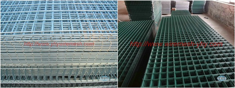 Pvc Coated Wire Garden Fencegreen Pvc Coated Steel Mesh Fencing