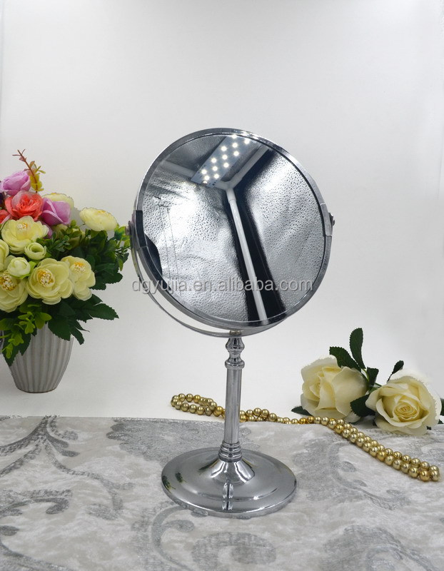 6 inch chrome two way vanity mirror for bedroom and bathroom
