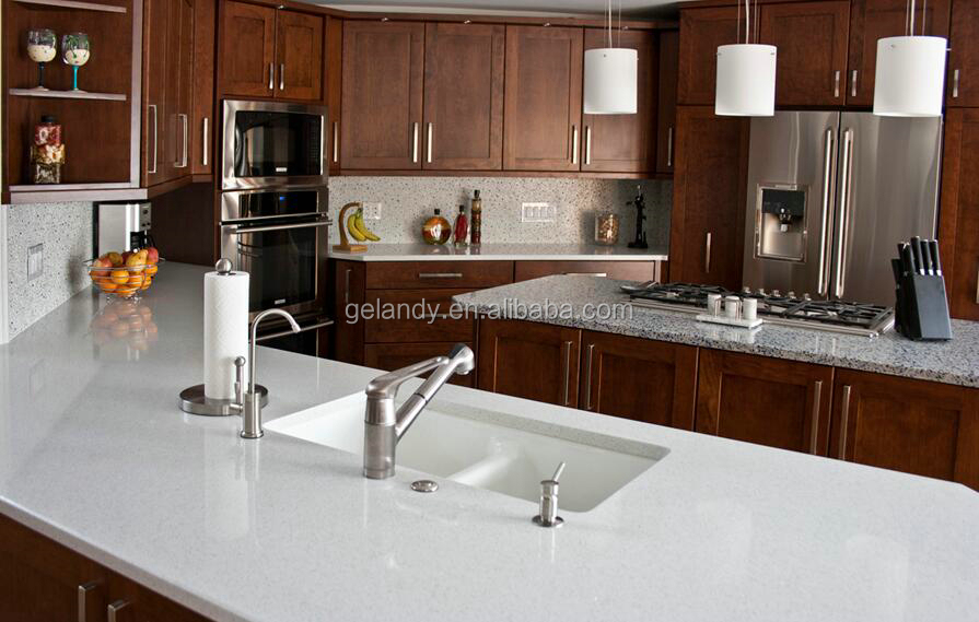 White Engineered Quartz Countertops For Kitchens Cost