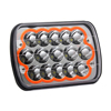 Plug and Play High Low Beam 45W Auto Car 7 Inch 7X6 led headlight