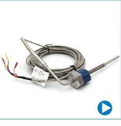GPT Customized K type Armored gas thermocouple temperature sensor