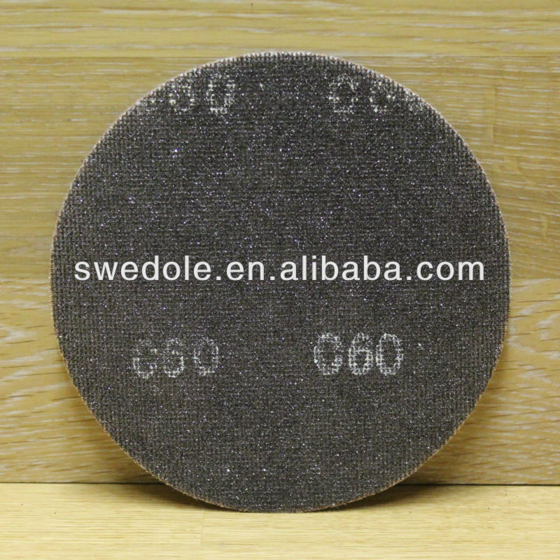 Silicon carbide abrasive flap sanding screen disc