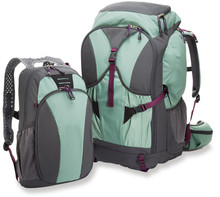 Women's travel pack backpack hiking