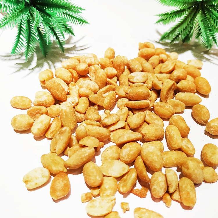 Sea Salty Caramel Flavor Roasted Peanuts Canned Packaging