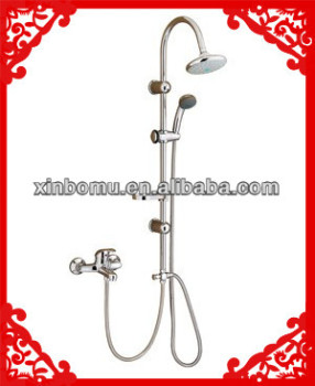 Shower Set with overhead rain Shower and hand shower set