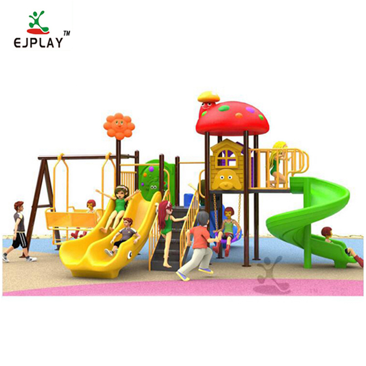 Cheap Children Outdoor Playground Swing And Slide Set, Kids Outdoor Playground Equipment