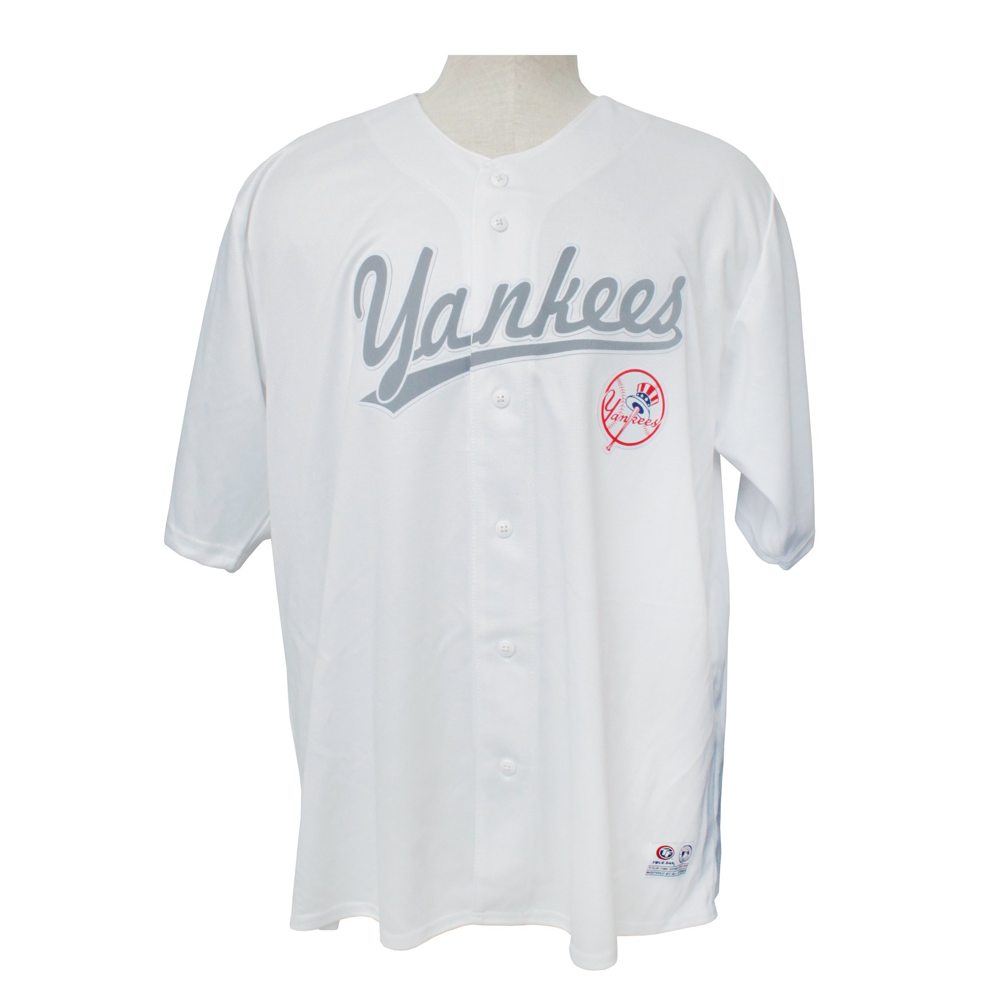 huge selection of 30c78 b8b87 MLB New York Yankees Mens White Baseball Jersey