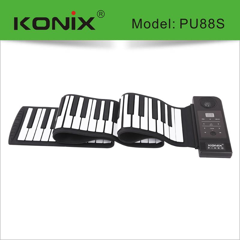 China Digital Soft Roll Up Piano 88 Keys Portable Digital Keyboard Sustain  Pedal - Buy China Victory Roll Up Piano,Digital Piano,Soft Roll Up Piano 88