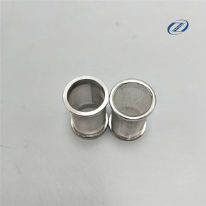 Acid resistant stainless steel Wire Mesh Filter Basket for Electrolab Dissolution