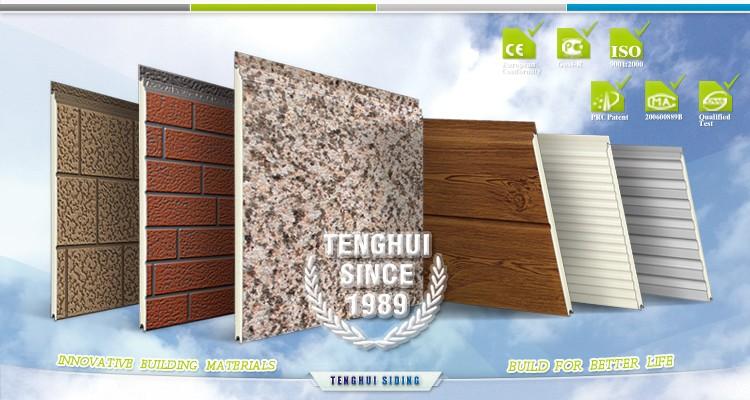 Types Of Foam Insulated Wall Panels : Insulation steel pu foam composite sandwich panel low