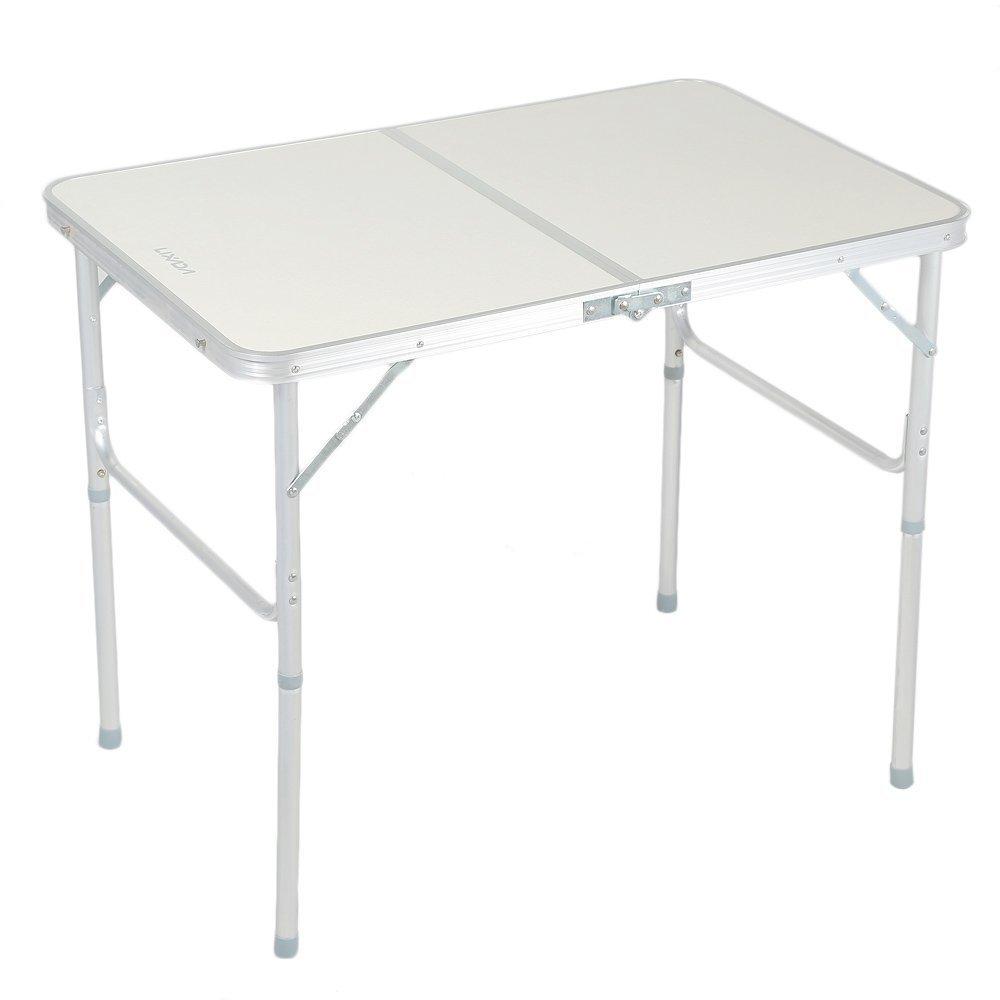 Lixada Centerfold Table Portable Indoor Outdoor Picnic Party Dining Camping Desk
