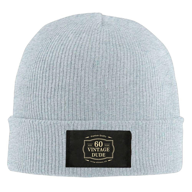 G-UNIVERSE Vintage Dude Knitting Hats Beanie Hat Cap Skull Beanie toboggan Knit  Hat 3281053d0d2