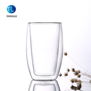 2019 New Arrival best price Double wall glass tumbler