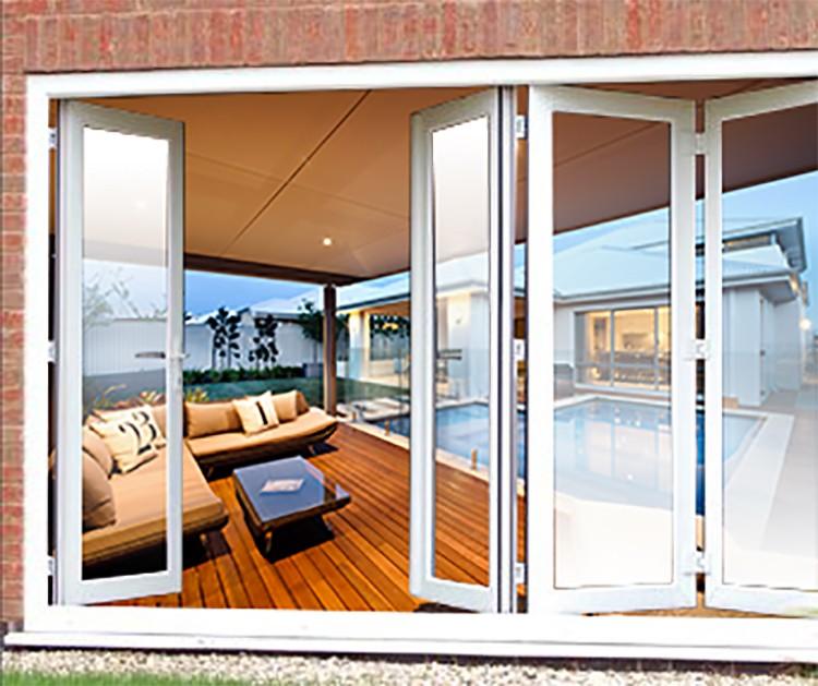 Bi fold glass exterior doors interesting best bi fold for Exterior folding glass doors