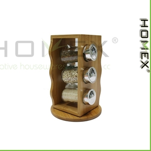 Spice Storage/ Seasoning Organizers/ Revolving Spice Rack/Homex_factory/BSCI