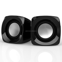 2017 high quality laptop computer mini portable usb powered 2.0 computer speakers