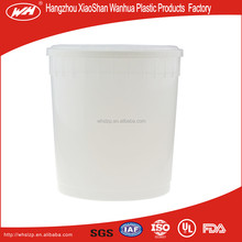 9.5L ijs plastic <span class=keywords><strong>emmer</strong></span>/salade pail packs emmers/voedsel <span class=keywords><strong>verpakking</strong></span> emmers