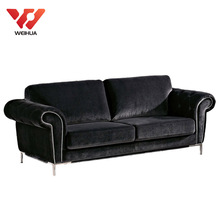 Black Velvet Sofa Set, Black Velvet Sofa Set Suppliers And Manufacturers At  Alibaba.com
