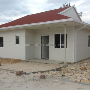 Low cost fast construction architectural house Villa plan