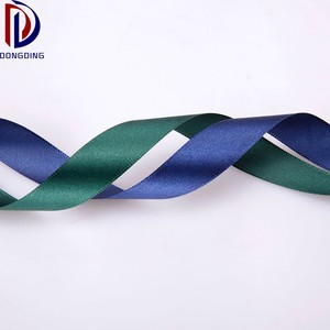 "Super quality wholesale 3/4"" inch michaels printed silk 100% polyester satin ribbon for gift/decoration"