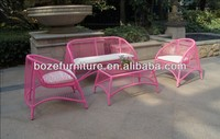 Acapulco sofa set / wicker sofa furniture
