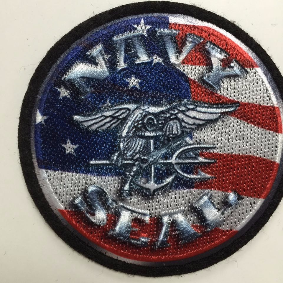custom best tactical pvc american flag patch