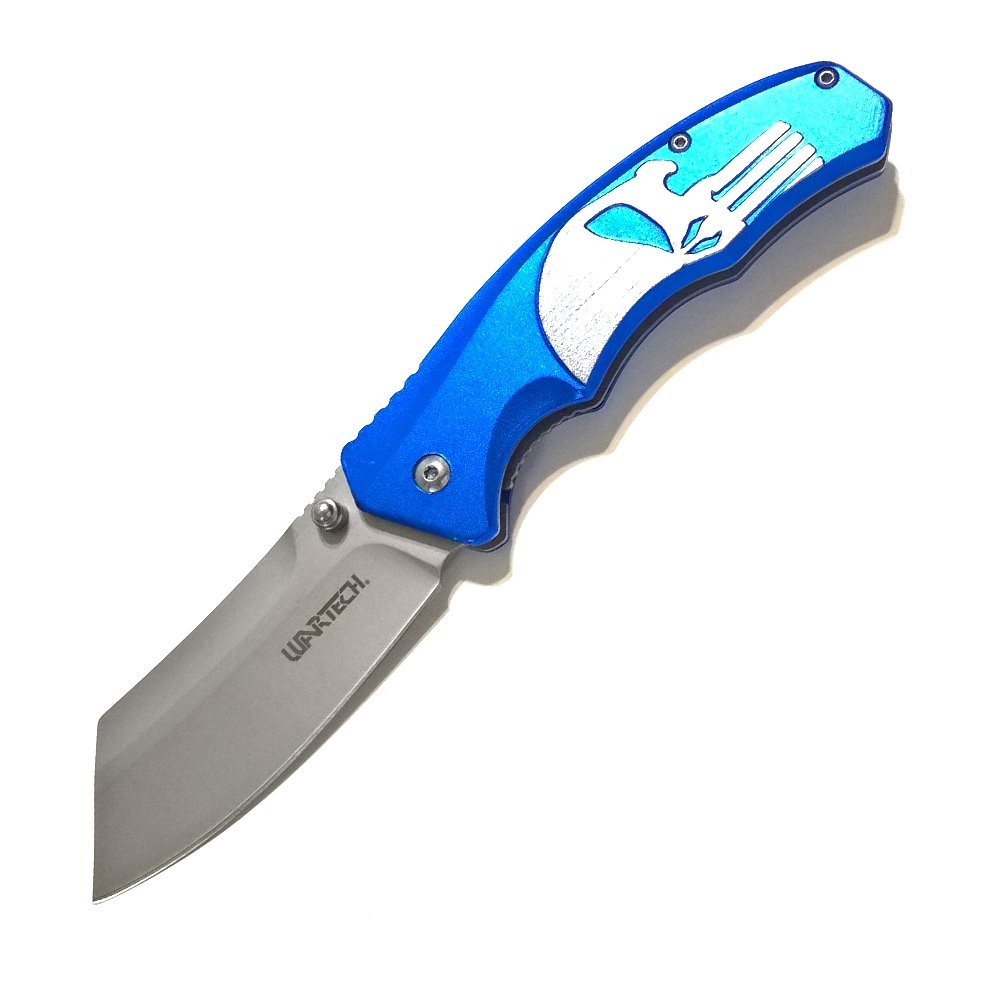 Avias Knife Supply Pocket Knife - 8 Inch Punisher Pocket Knife - 2RZ Series