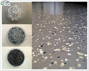 Water based/ Waterproofing Epoxy flooring paint Colour flakes
