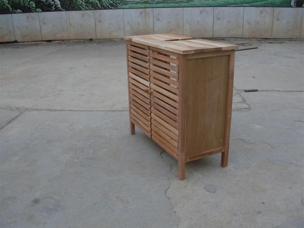 Onder wastafel massief hout kast badkamer wastafel kast for Kastje onder wastafel toilet