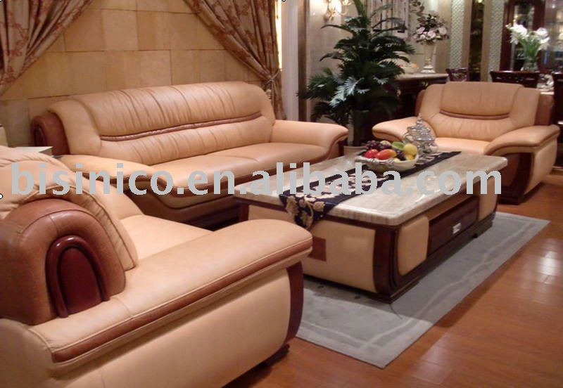 2011 new style High qualita genuine leather chesterfield sofa modern european style luxury leather sofa set B46098