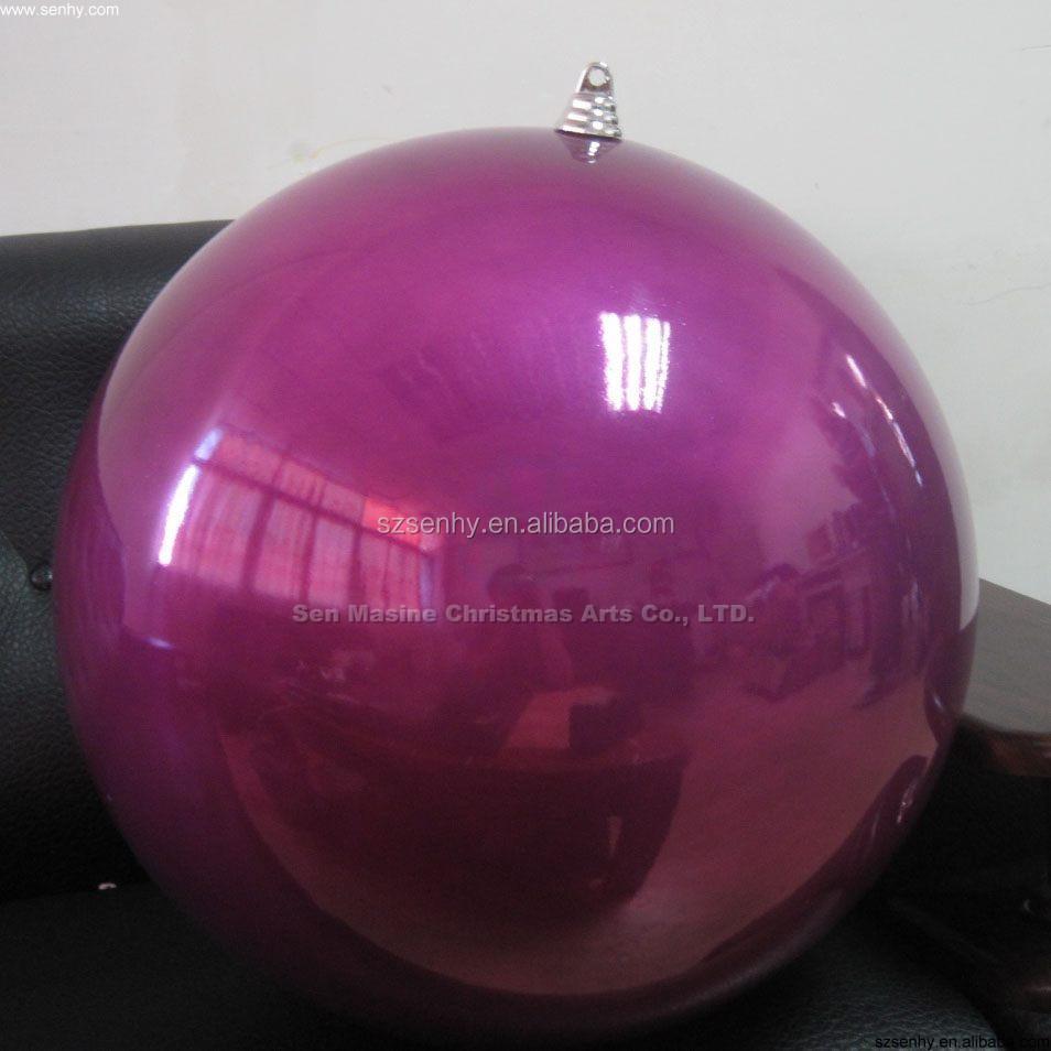 Plastic ornament - Shopping Mall Decorative Large Christmas Ornament Balls