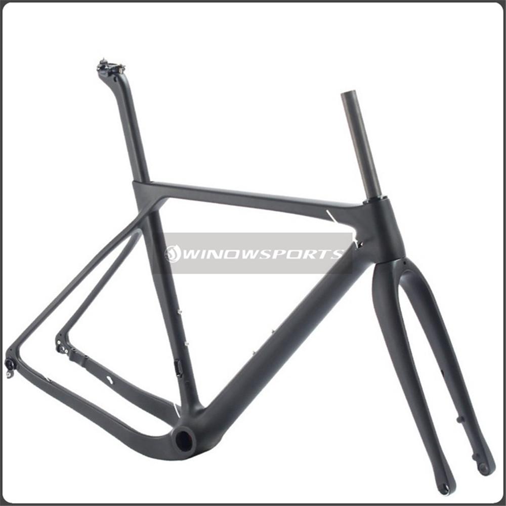 Nuevo diseño aero Road MTB grava bici llena del carbón, grava ...