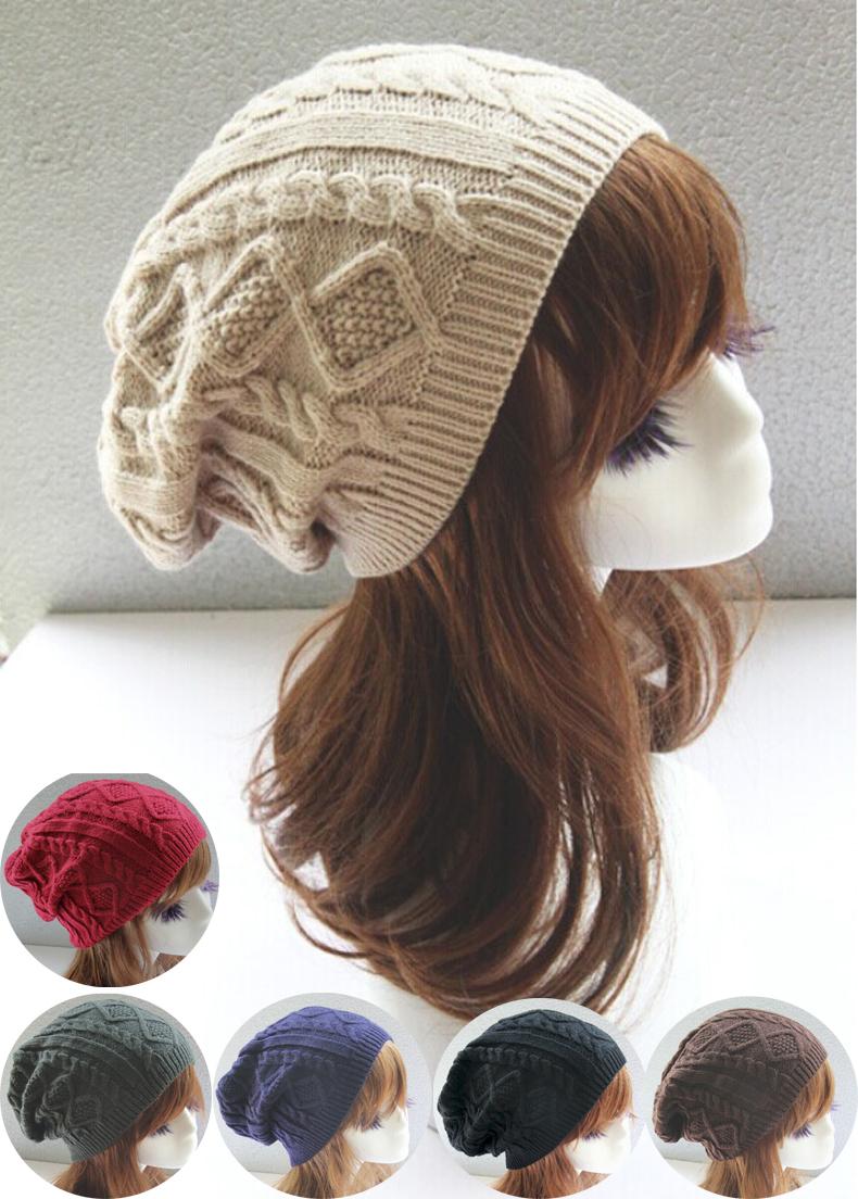 Настоящее зима шляпы для женщины и манжетой плетёный сноуборд шапочку альпинизм держать тёплый лыжный кепка