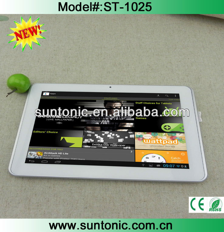 3G tablet pc 10 inch Qualcomm S4 dual core 1.2GHZ,IPS Screen