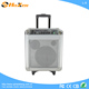 hot sale active audio rechargeable trolley portable bluetooth speaker with fm radio L-5