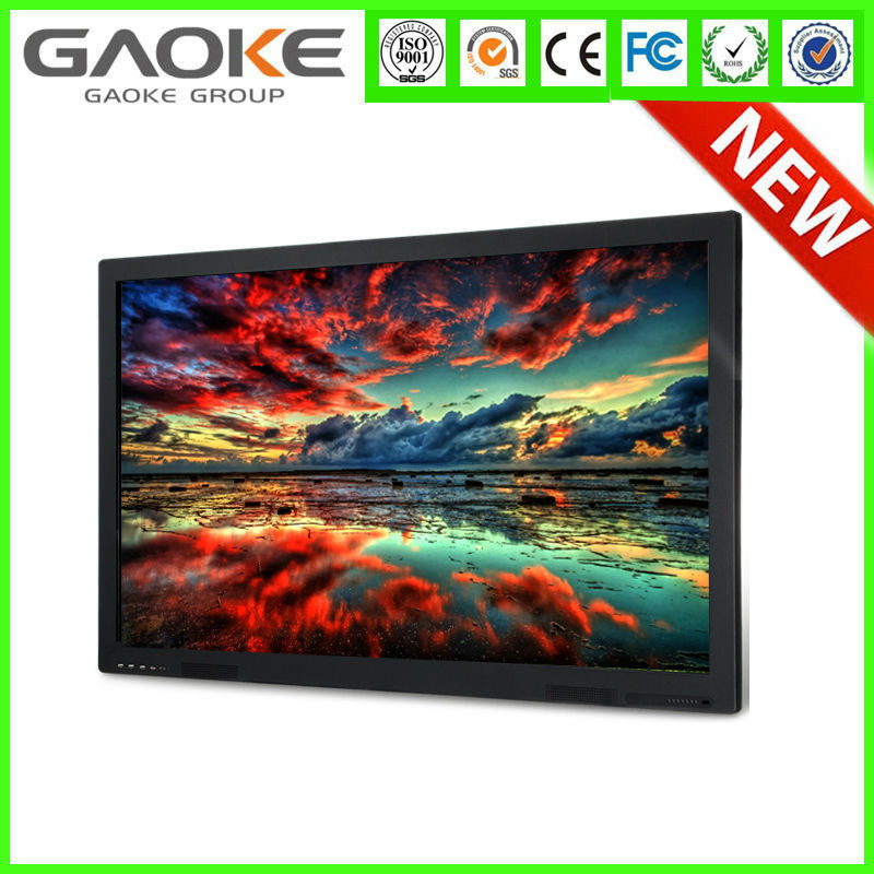 China New design Touchscreen cctv lcd monitor wall mounted 50 inch lcd touchscreen single board computer lcd monitor with webcam