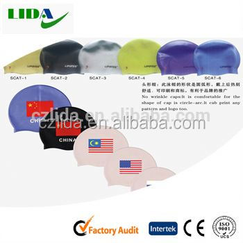 head shape swimming cap,Latest new hot super soft matte surface silicone swim cap