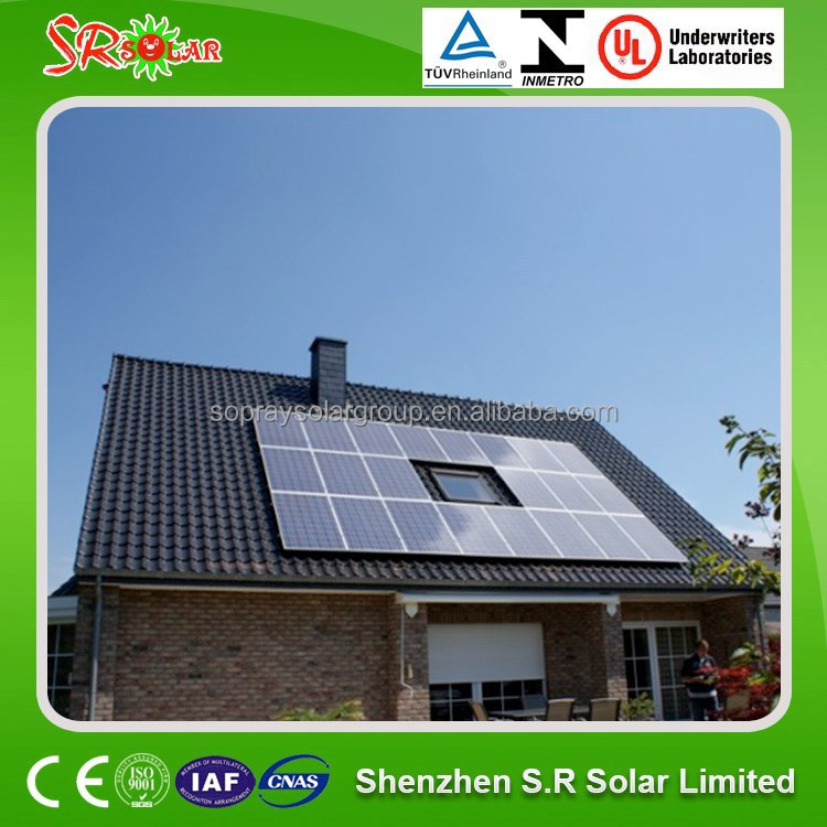 Sopray 10kw off grid solar system kits for residential house farm