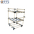 Reformable lean abs pipe material storage rack