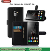 Luxury Phone Holster For Lenovo K4 Note/Vibe X3 Lite/A7010 Genuine Leather Magnetic Auto Flip Wallet Case Cover