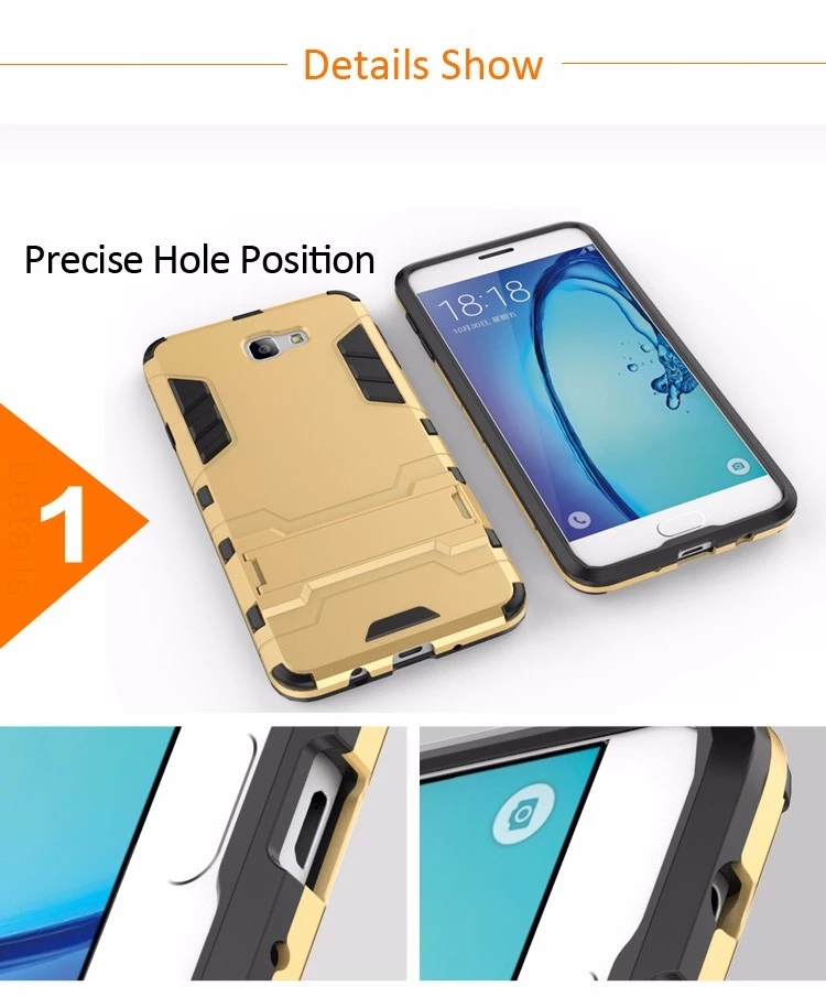 Low Price Armor Shockproof Bumper Funky Mobile Phone Case Back Cover For Samsung Galaxy J7 J5 J3 J2 2016