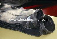 high tempreture fiberglass filter bag