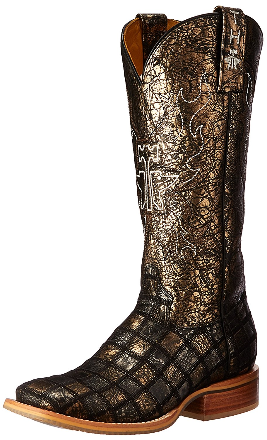 3a71224baea ... Size 8 Bible Verse MY SAVIOR JOHN 3 16 Crosses Crown of Thorns Square  Toe Transparent Sole Cowboy Boots 309.99. Tin Haul Shoes Women s Meow Work  Boot