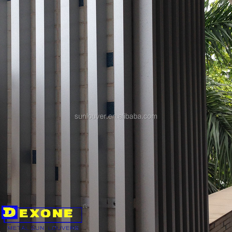 Exterior Aluminium Box Louver As Fence Panels Buy